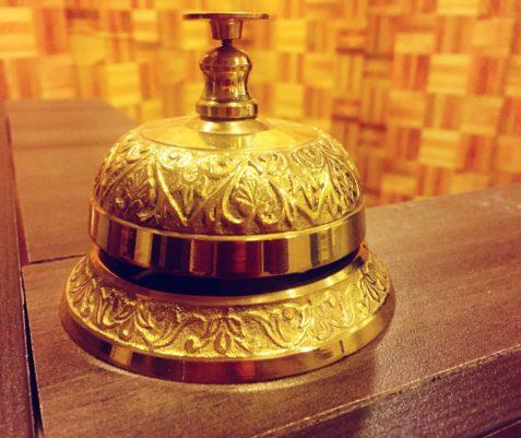 Haifa Fair Hotel bell